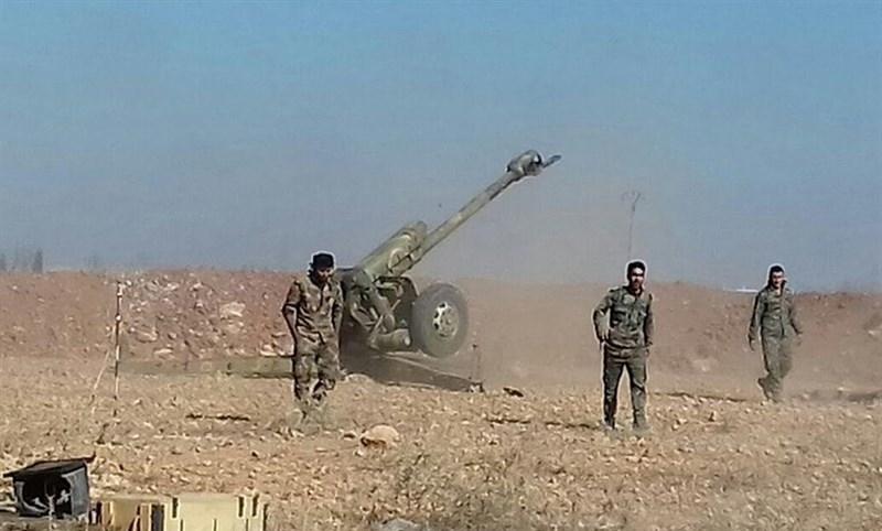 آزادی «أم الرمان» در حومه دمشق/ درگیریهای شدید در حومه«حمص» و هلاکت دهها داعشی + نقشه