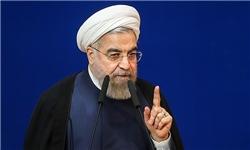 روحانی: هرکس با زبان تهدید با ملت ایران سخن بگوید، این ملت او را پشیمان خواهد کرد/ حضور میلیونی مردم، پاسخ حرفهای نادرست سردمداران جدید کاخ سفید است