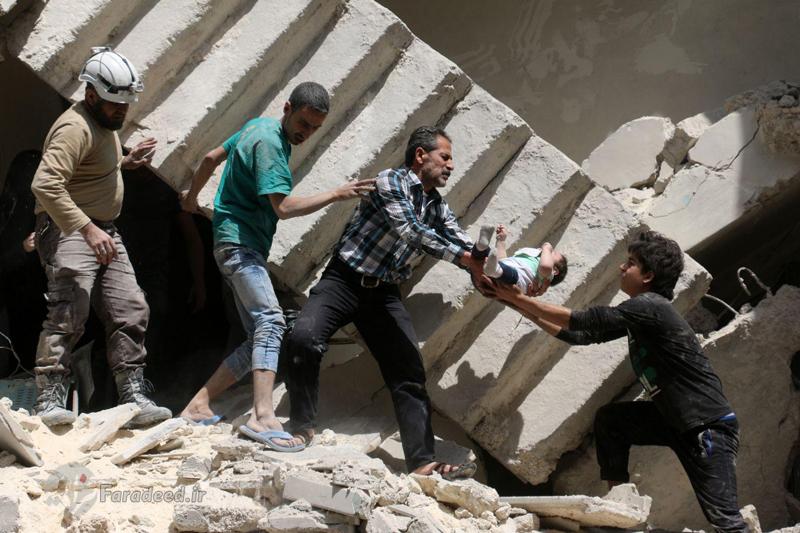 (تصاویر) عکسهای تکاندهنده از حلب