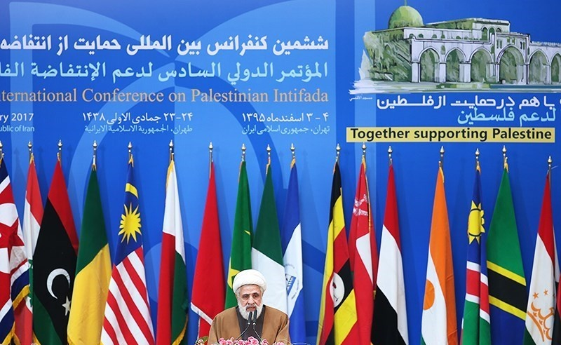 مراسم اختتامیه ششمین کنفرانس بینالمللی انتفاضه فلسطین آغاز شد