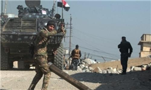 آزادسازی کامل پایگاه «الغزلانی»/ ادامه پاکسازی فرودگاه تازه آزاد شده موصل/ نیروهای عراقی وارد اولین منطقه غرب موصل شدند