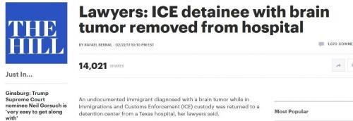 ماموران امنیتی زن مبتلا به تومور مغزی را ربودند!