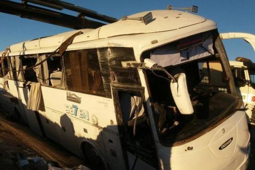 واژگونی اتوبوس در محور بروجرد - خرمآباد ۸ مجروح برجای گذاشت