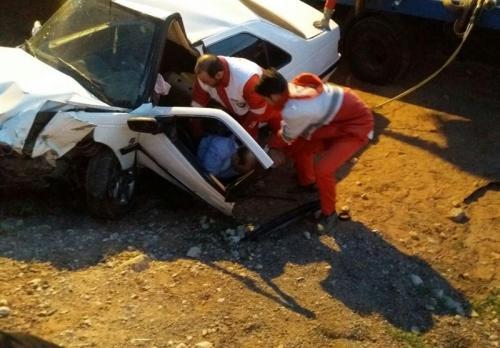 حادثه رانندگی در آزادراه ساوه ـ همدان یک کشته و ۳ مجروح برجای گذاشت