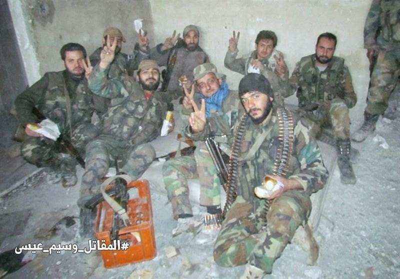 نبرد سنگین ارتش با داعش در جنوب «دیرالزور» / آزادی ۵ شهرک دیگر در حومه شرقی «حلب» + نقشه