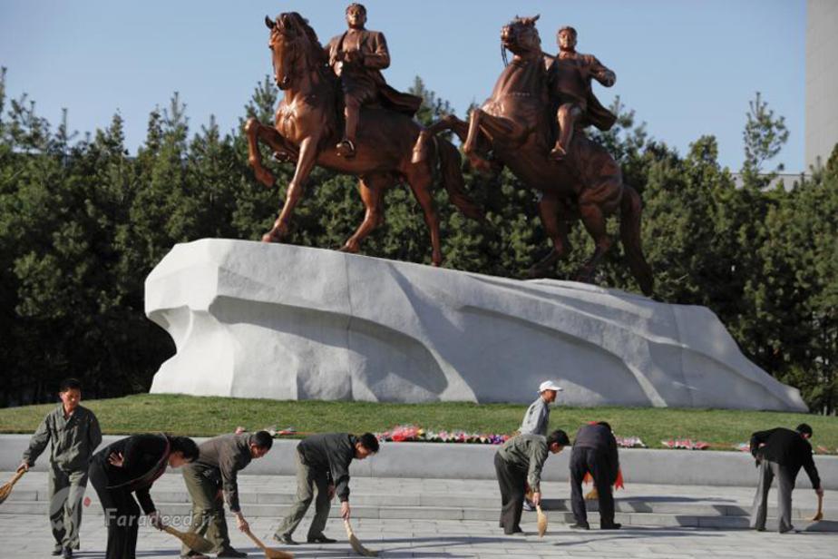 """(تصاویر) کره شمالی آماده """"اتفاق بزرگ"""""""