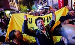 ادامه تظاهرات علیه اردوغان در استانبول
