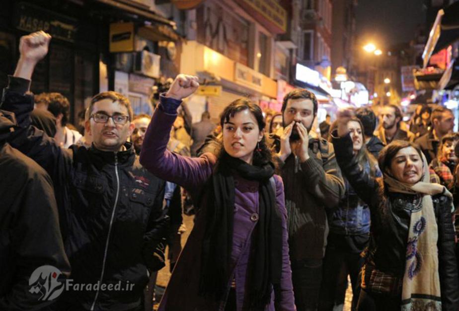 تصاویر/ مخالفان اردوغان به خیابانها ریختند