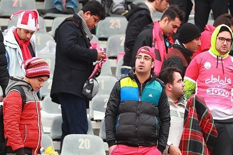تصاویر/ حضور هواداران پرسپولیس در ورزشگاه