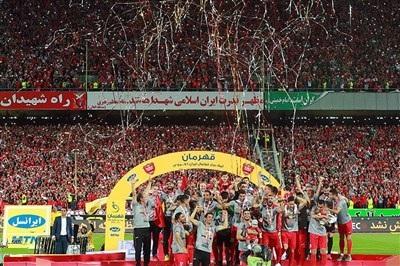 (تصاویر) جشن قهرمانی پرسپولیس