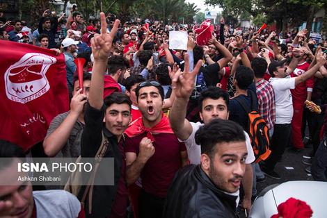 (تصاویر) جشن صعود سپیدرود به لیگ برتر
