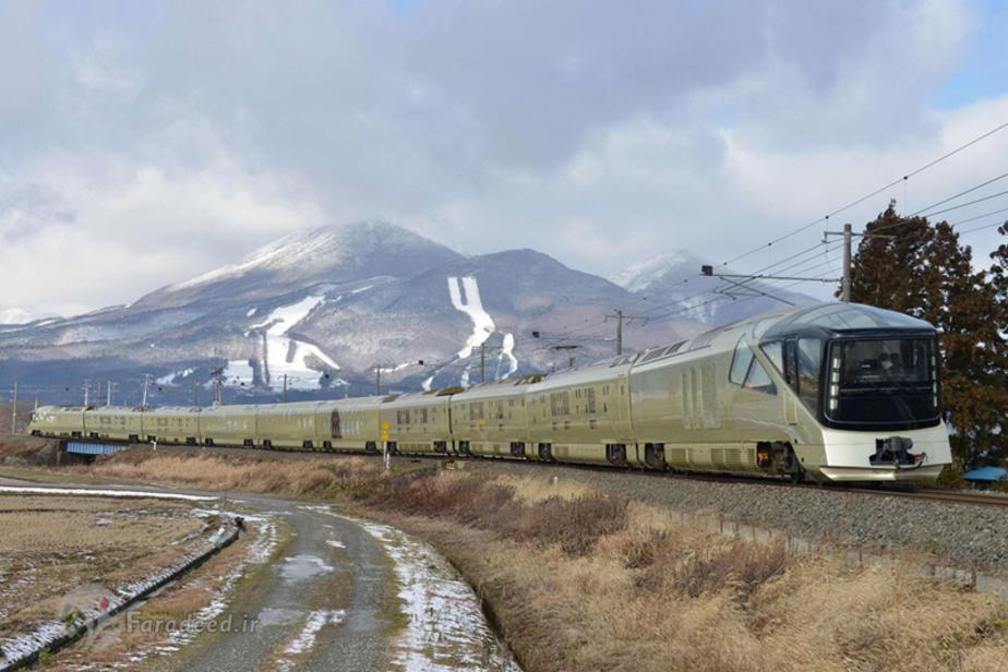 (تصاویر) راهاندازی قطار سوپر لوکس ژاپنی