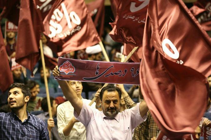 دیدار پرشور گروههای جهادی با دکتر قالیباف +تصاویر