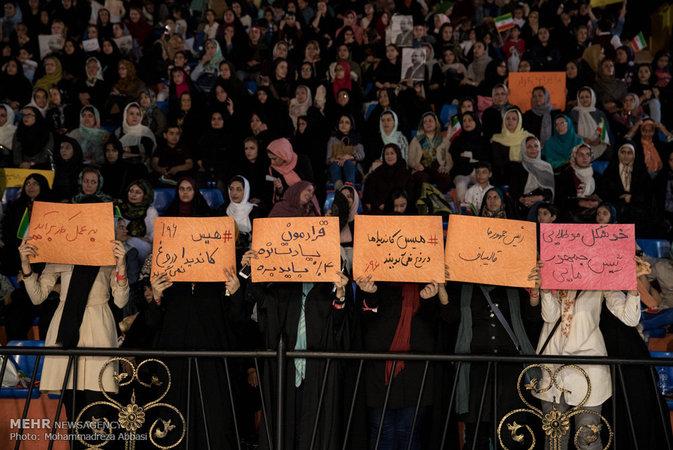 تصاویر: همایش دختران دهه هفتادی حامی قالیباف