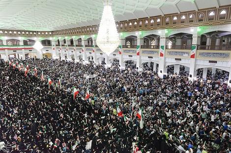 (تصاویر) اجتماع هوادارن رئیسی در تبریز