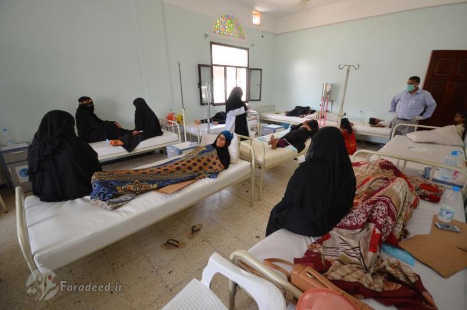 (تصاویر) شیوع وبا در یمن