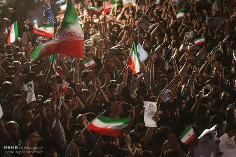 (تصاویر) اجتماع هواداران رئیسی در اصفهان