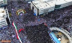«مشهدالرضا» هم در حمایت از «سید ابراهیم رئیسی» بهپا خاست+ تصاویر