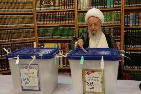 آیت الله مکارم شیرازی: آحاد ملت پای صندوق های رای حاضر شوند