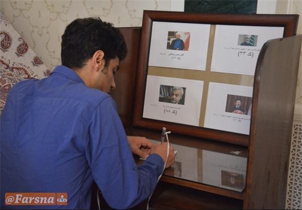 انتخابات ریاست جمهوری ایران در بیشکک+تصاویر
