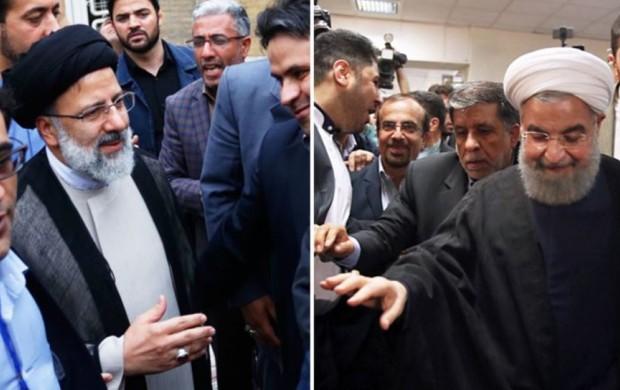 نمایندگان رئیسی و روحانی از وزارت کشور رفتند