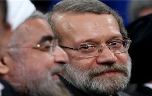 شباهت های علی لاریجانی با حسن روحانی