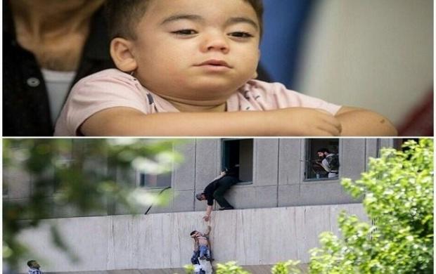 پیگیری درمان کودک حادثه تروریستی مجلس