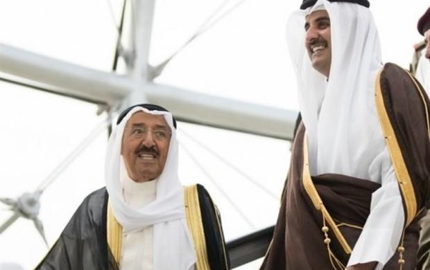 همبستگی کویتیها با قطریها