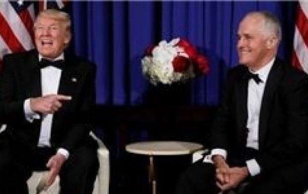 نخستوزیر استرالیا ترامپ را مسخره کرد