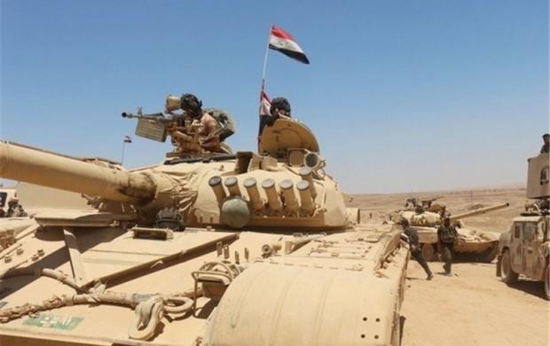 نوار مرزیعراق، سوریهو اردندر کنترلنیروهایعراقی