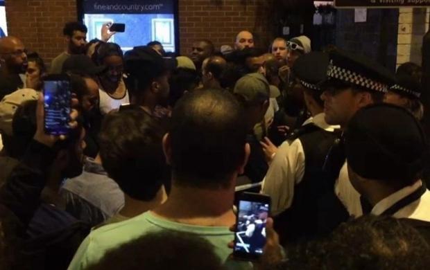 حمله با خودرو به نمازگزاران مسجدی در لندن