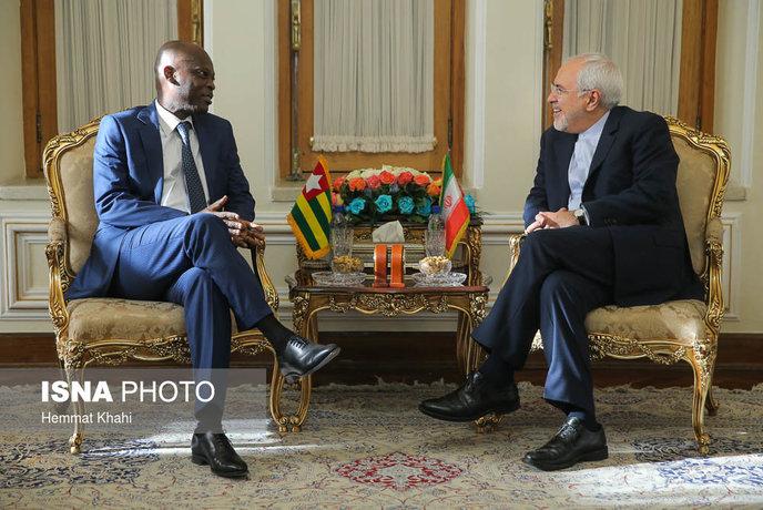 تصاویر/دیدارهای دیپلماتیک ظریف در روز تحلیف