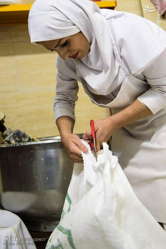 نانوایی زنانه در کرج+عکس