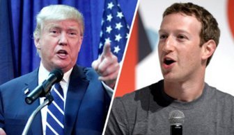 مالک فیسبوک، رقیب انتخاباتی ترامپ
