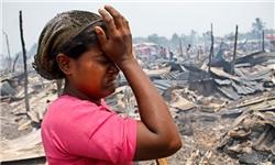 کشته های مسلمانان روهینگیا بیش از ۱۰۰۰ نفر است