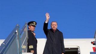 رئیسجمهوری ترکیه وارد تهران شد