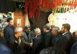 مراسم ختم مرحوم داود احمدینژاد برگزار شد