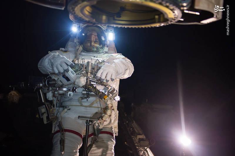 عکس روز ناسا در ایستگاه فضایی+عکس