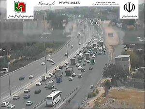 آخرین وضعیت ترافیکی محورهای مواصلاتی کشور
