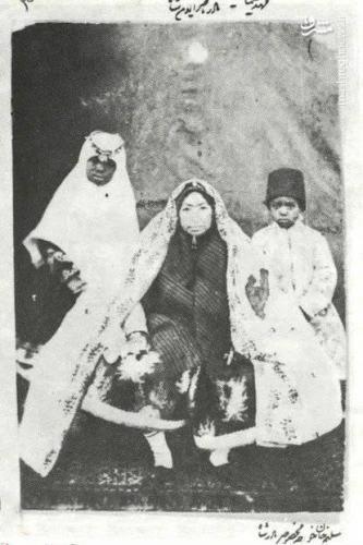 مادر ناصرالدین شاه+عکس