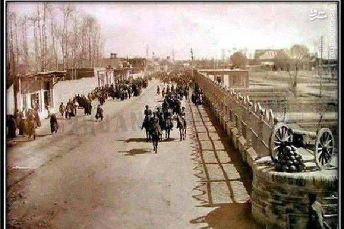 خیابان میرداماد تهران در سال ۱۲۴۸+عکس