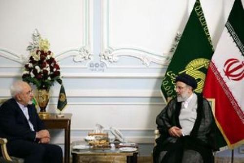 رئیسی در دیدار با ظریف چه گفت؟