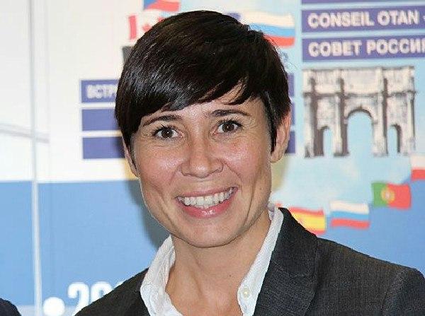 برای نخستین بار یک زن وزیر خارجه نروژ شد