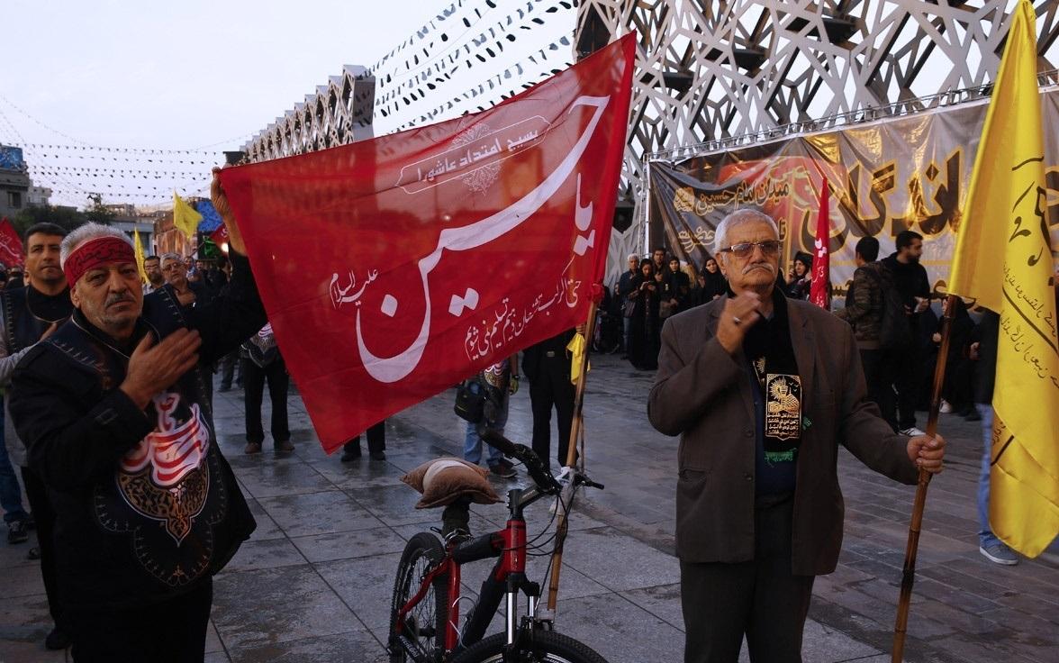 جاماندگان اربعین در تهران ندای «هل من ناصر» حسین(ع)را لبیک گفتند