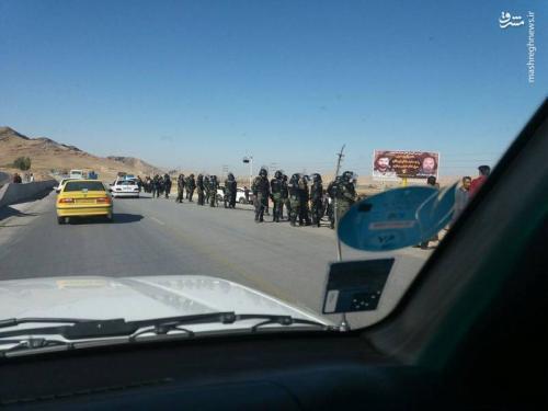 تامین امنیت مردم کرمانشاه توسط ناجا+عکس