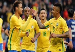 برزیل و انگلیس به تساوی رضایت دادند