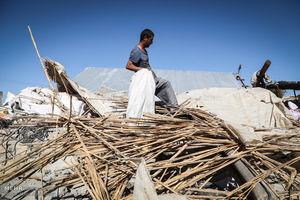 بازسازی در مناطق زلزله زده شروع شده است
