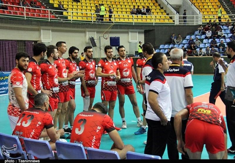 تیم والیبال شهرداری ارومیه به مصاف کاله آمل میرود
