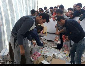 سیل کمکهای مردمی در راه مناطق زلزلهزده کرمانشاه
