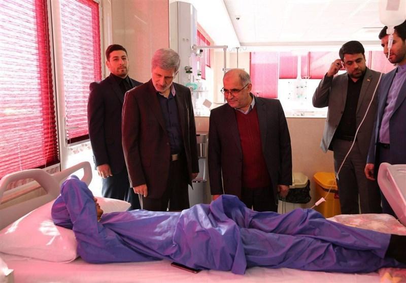 وزیر دفاع از انجمن خیریه مهرانه بازدید کرد